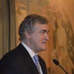 Euroopan NMKY:n pääsihteeri Juan Iglesias piti juhlapuheen