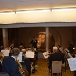 Helsinigin NMKY:n sinfoniaorkesteri soitti gaalassa Tapio von Boehmin johdolla unohtumattomasti Sibeliusta, Dvorakia ja wieniläisklassikoita.