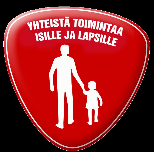 Isä-lapsi-logo pysty 3D 2016 kopio
