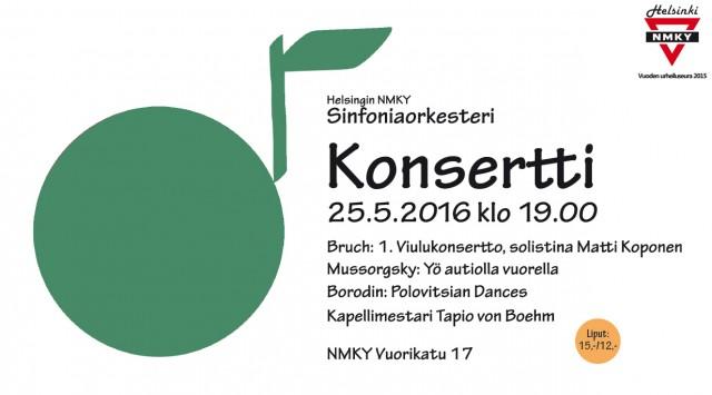 sinfoniaorkesterin konsertti 2016