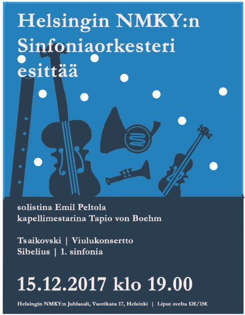 sinfoniaorkesterin mainos 2017